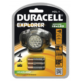 DURACELL TORCIA EXPLORER HDL-1  3AAA INCLUSE