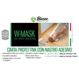 W-MASK CARTA PROTETT.+NASTRO ADES. CM30X20MT