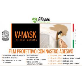 W-MASK FILM PROTETT.+NASTRO ADES. CM55X20MT