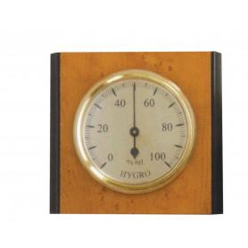 IGROMETRO IN LEGNO CM.9,5X8,5 ART.301341