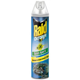 RAID OUTDOOR MOSCHE-ZANZ.XESTERNI SPRAY ML400