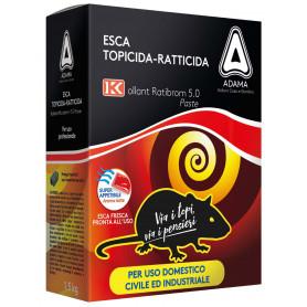ESCA TOPICIDA'RATIBROM 5.0'KG.1,5 (3X500 GR.)