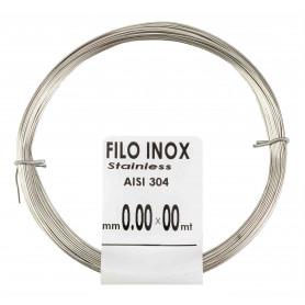 MATASSINA FILO ACCIAIO INOX MM.1,0X6MT.