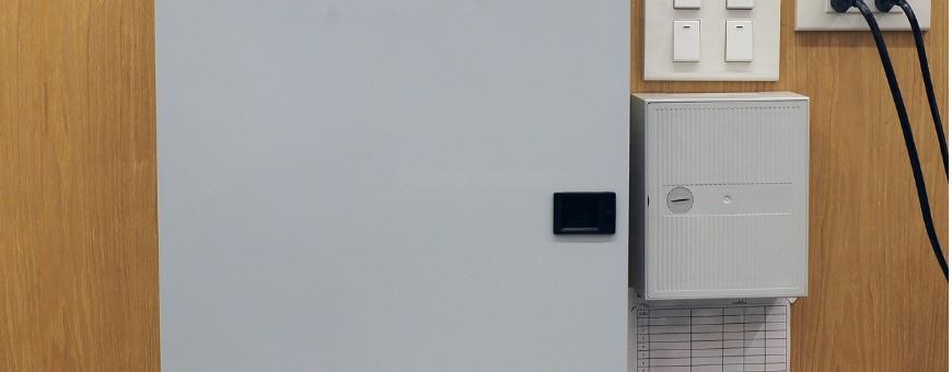 Cassette e sportelli per contatori