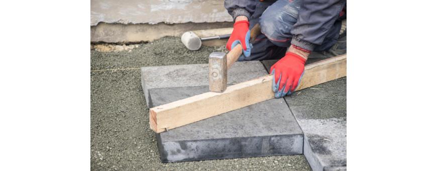 Mazze e mazzette per muratori